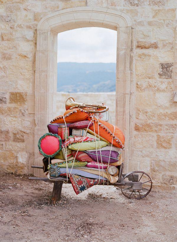 Pillows; photo by Elizabeth Messina