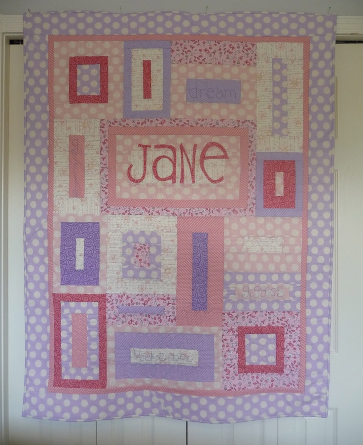 Grace and Favour: THE NURSERY QUILT