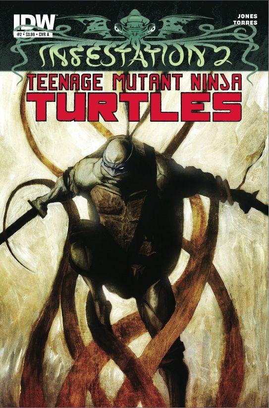 Infestation 2: Teenage Mutant Ninja Turtles #2 (due out 2012.03.21)