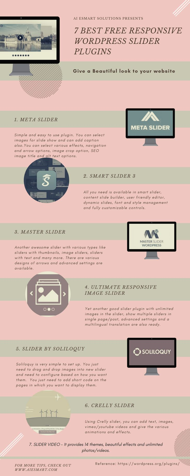 7 Best free Responsive WordPress Slider Plugins for WordPress Site Design