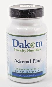 Adrenal Plus: A balanced vitamin and mineral supplement regimen is critical when addressing adrenal regulation. The synthesis and secretion of cortisol is largely dependant on adequate supplies of various vitamins. Vitamin C is needed for steroid biosynthesis and is depleted from the adrenal cortex upon high cortisol secretion. Niacin derivatives are also necessary cofactors for steroid biosynthesis. Pantothenic acid is vital to maintain steroid secretion from the adrenal cortex.
