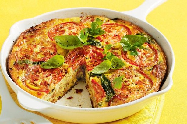 With the tang of cheddar and mustard, this tasty frittata is family favourite.