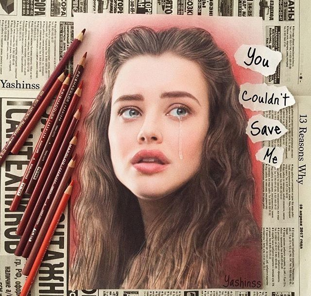Hannah Baker fan art