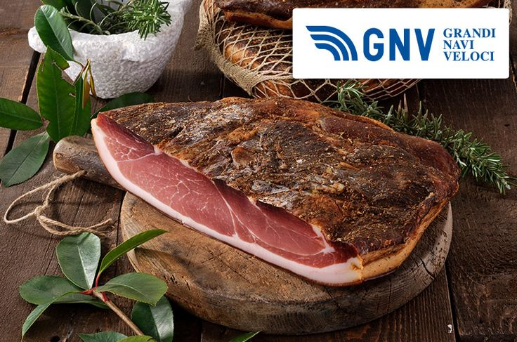 #speck is a typical #ham of #trentino #altoadige, used in the entire #italian #gastronomy!  Discover #GNV here: http://www.gnv.it/en/