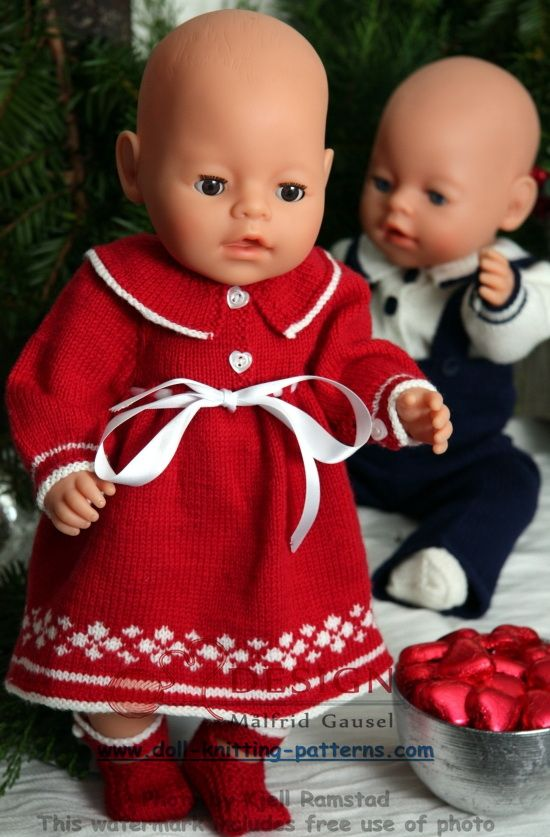 116 best images about Doll Knitting Patterns on Pinterest
