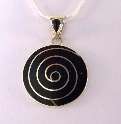 pendentif péruvien pierre onyx