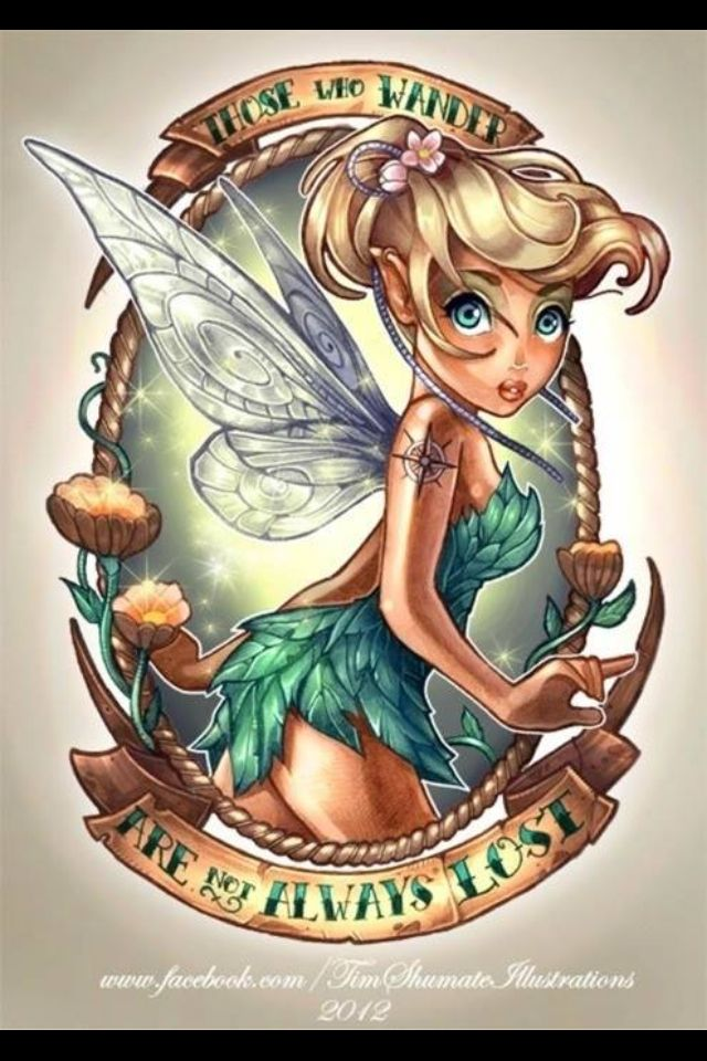 Badass Tink , the motorcycle Fairy gang .