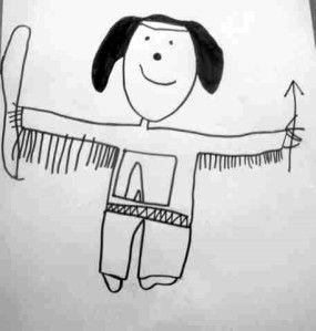 dessins dirigés par étapes oralisées et-ou observées par l'enfant sur papier