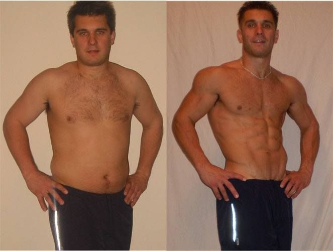 Each is a 7 lb weight loss noticeable one missing much like