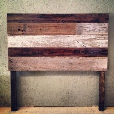 Reclaimed Wood Headboard craftsman headboards