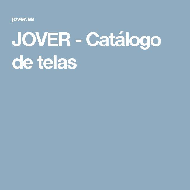 JOVER - Catálogo de telas