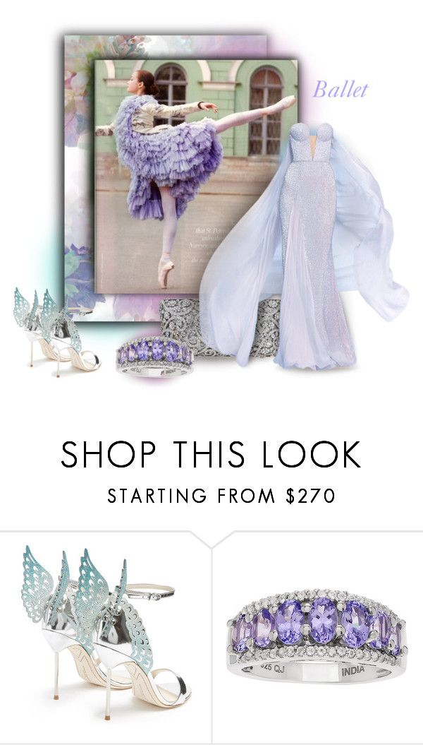 """""""Ballet"""" by axenta ❤ liked on Polyvore featuring RALPH & RUSSO, Sophia Webster, ballet and axenta"""