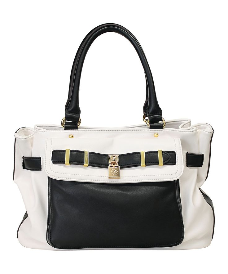 Black & White Atherton Satchel