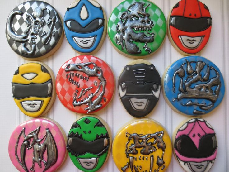 Go Go Power Rangers! - Cookie Couture by Sarah