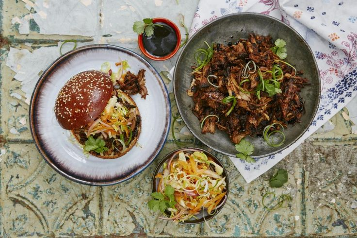 Slow cooker red roast pulled pork | Jamie Oliver | Features