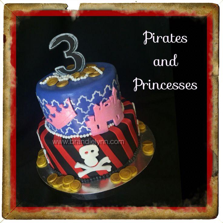 Pirates & Princess cake
