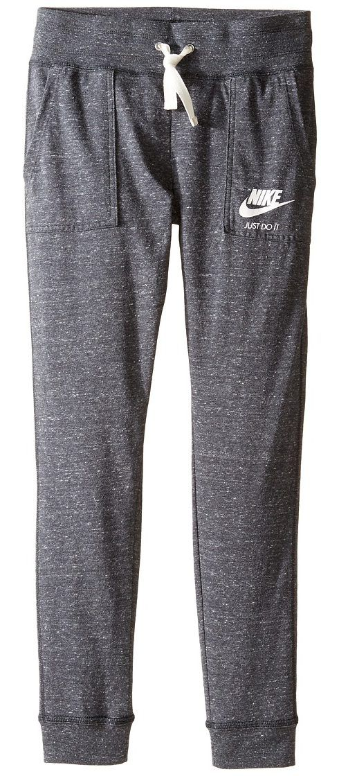 Nike Kids Sportswear Vintage Pant (Little Kids/Big Kids) (Anthracite/Sail) Girl's Casual Pants - Nike Kids, Sportswear Vintage Pant (Little Kids/Big Kids), 874602-060, Apparel Bottom Casual Pants, Casual Pants, Bottom, Apparel, Clothes Clothing, Gift, - Fashion Ideas To Inspire