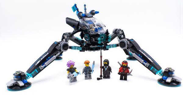 Vite testé : 70611 Water Strider: C'est un peu l'inconvénient de l'ensemble de la gamme de sets basés sur le film The LEGO Ninjago… #LEGO