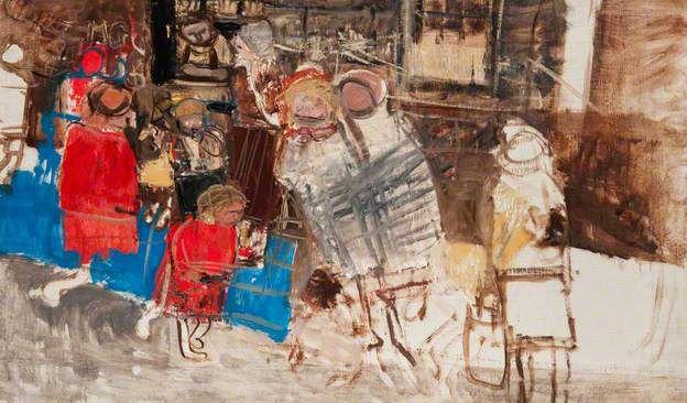 Study for Glasgow Back Street Children - Joan Eardley 1960
