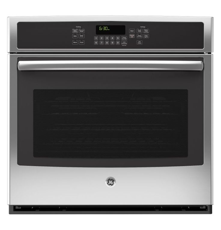 GE JT5000 5.0 Cu. Ft. Built-In Single Electric Oven with Convection Heating and Stainless Steel Ovens Electric Single