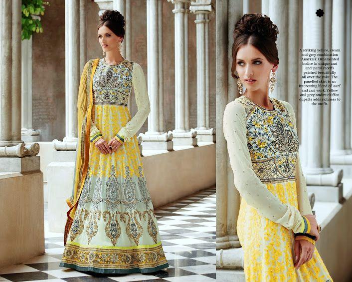 Best Rakhi Gift for your sister, get this Gorgeous Anarkali