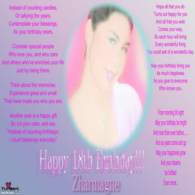 facebook birthday quotes for daughters 18th | Happy 18th Birthday Quotes