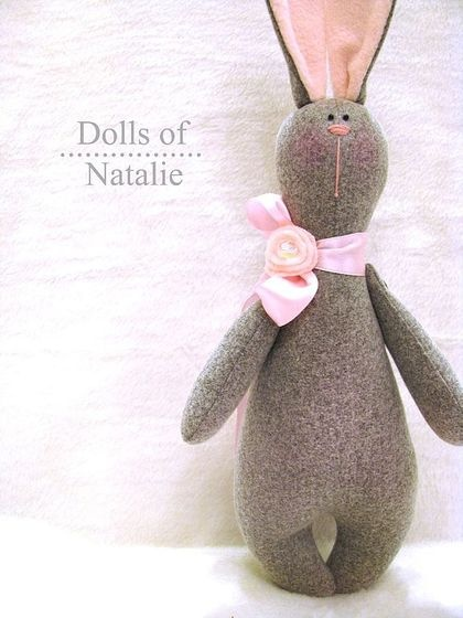 Dolls of Natalie. No tutorial but pretty simple and similar to Tilda's Bunny