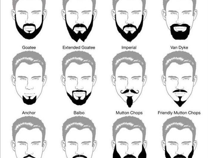 Bien connu Les 25 meilleures idées de la catégorie Types de barbe sur  QC76