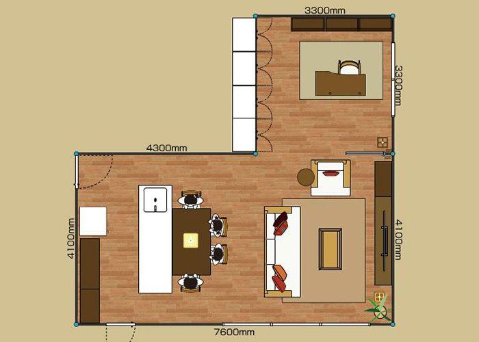 部屋の快適な家具配置とレイアウト例 1ldk 2ldk 3ldk