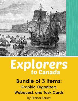 Explorers to Canada - Bundled Set of 3