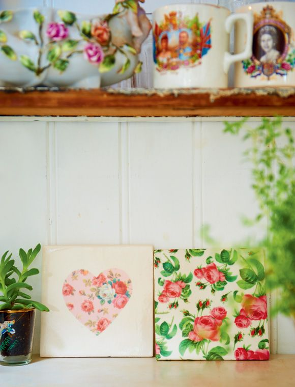 @ Patchwork Harmony blog: Vintage Craft by Pearl Lowe - beautiful tiles
