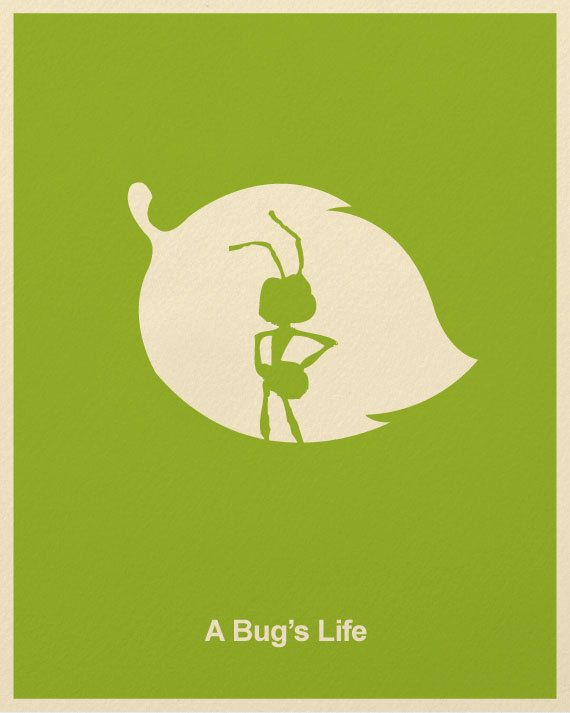 Pixar Minimalist Posters by Marcus