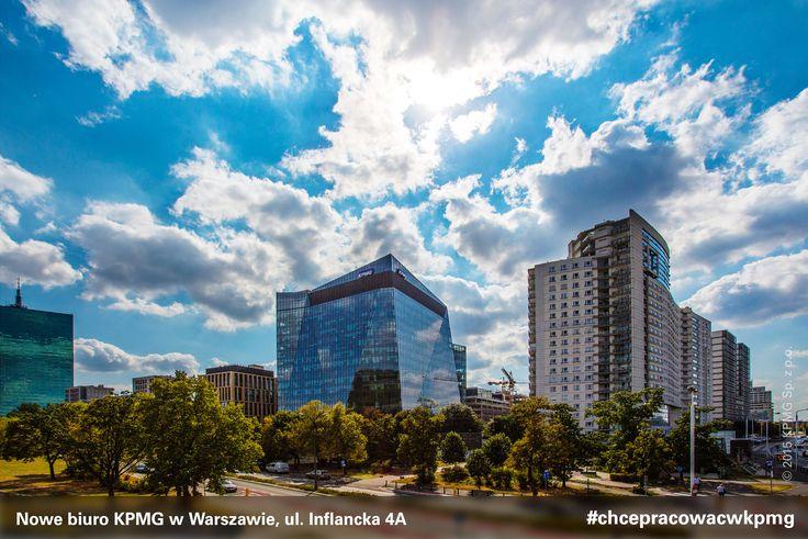 Nowe biuro #KPMG w Warszawie ma powierzchnię ponad 11 000 mkw. i zajmuje 6 pięter w budynku Gdański Business Center. #KPMG #kpmgwwarszawie #kpmginwarsaw #nowebiuro #newoffice #inflancka #chcepracowacwkpmg #kariera #praca