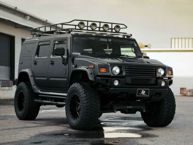 2014 Hummer H1 Black