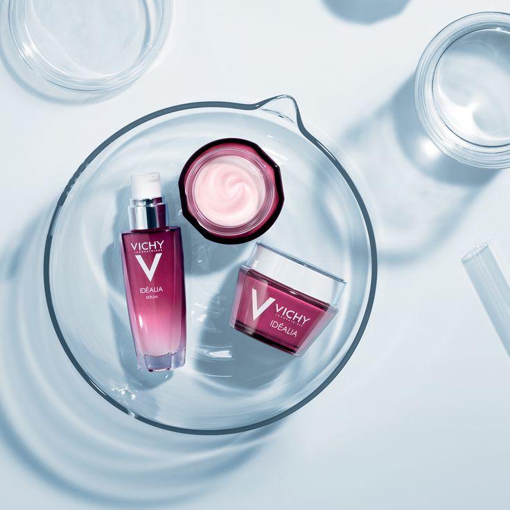 Vichy Idéalia   Een optimale verzorging om de kwaliteit van de huid te verbeteren. Deze verzorging voor een ideale huid is bestemd voor alle vrouwen met een normale tot gemengde huid.