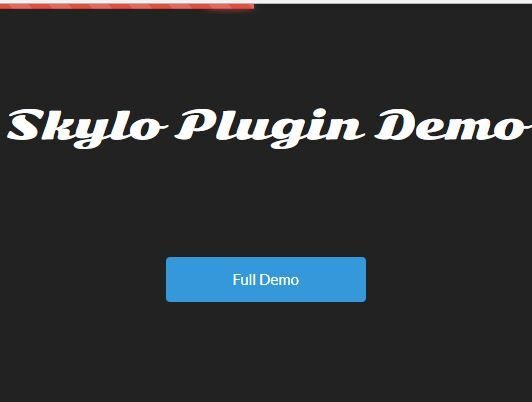 skylo is a jQuery loading indicator plugin which utilizes Bootstrap's progressbar component to generate a dynamic content loading bar at the top of the webpage. #jquery #bootstrap