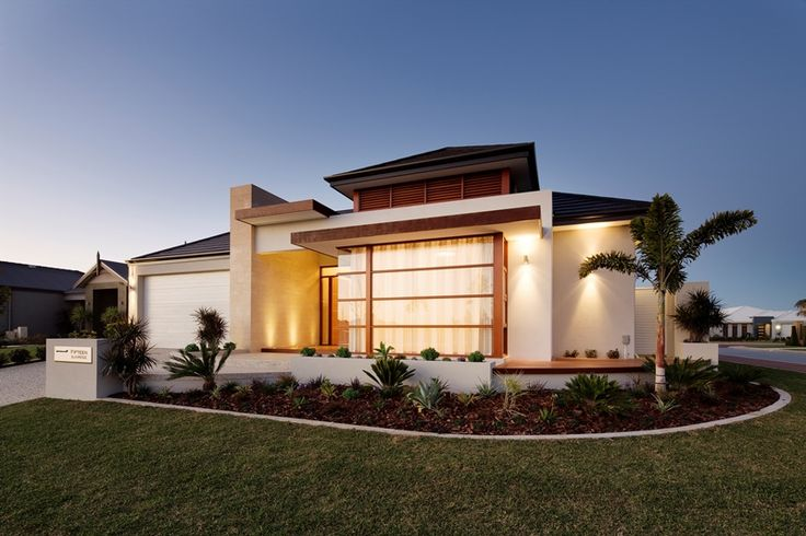 Single storey custom built home.