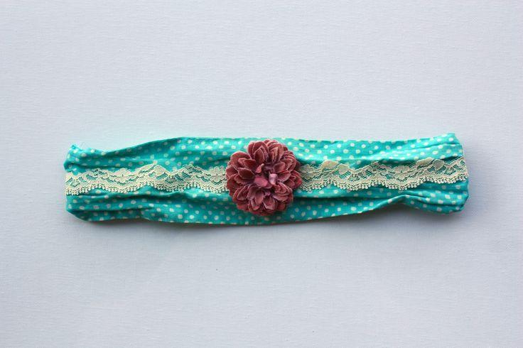 Vintage Lace Headband on etsy.com/shop/demifleur
