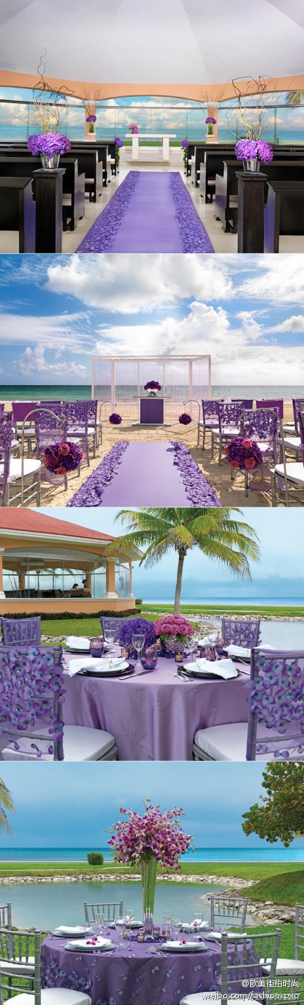 purple weeding