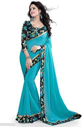 Saree Fabric : Weightless Georgette ,Length : 5.5mtr Blouse Fabric : Bhagalpuri Print , Length : 0.8mtr , Work : Printed Packaging Detaill : 1Sari + 1 Unstitch Blouse