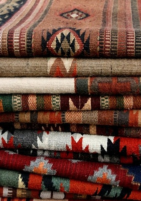 Make pillows, upholster benches use as rugs - the options are endless with Kilims!