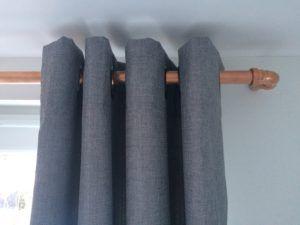 Copper Pipe Curtain Pole