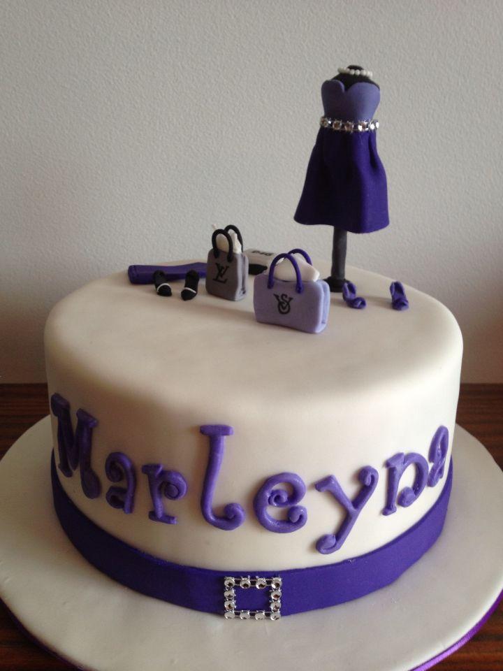 Fashion Cake... Purple