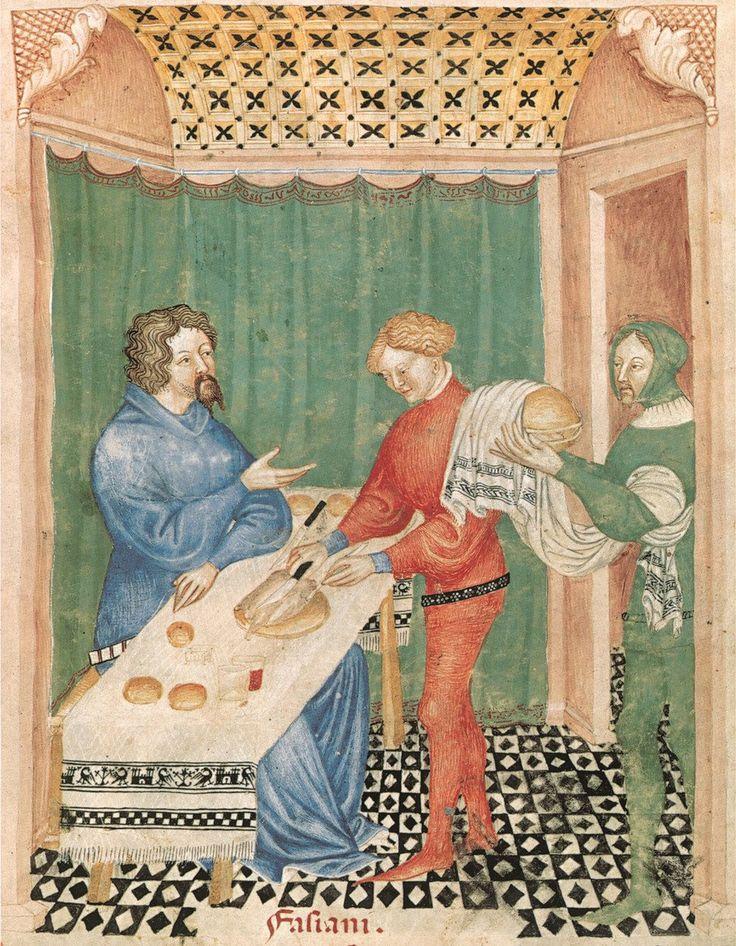 의학서 <중세의 건강서적> 속 삽화. 푸른지식 제공