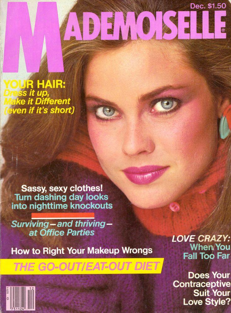 1980 Mademoiselle Magazine Carol Alt Christopher Walken Shelley Duvall 80s Ads #Mademoiselle
