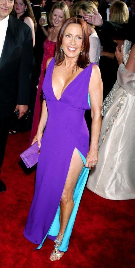 Patricia Heaton Purple Dress Red Carpet Playmates