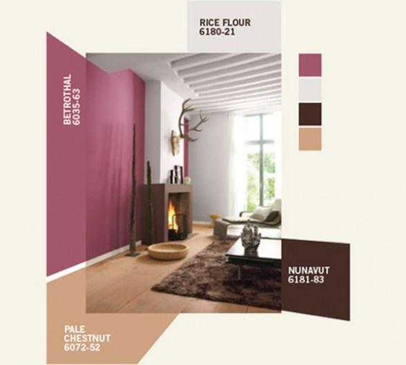 Combination Color Scheme Interior Paint