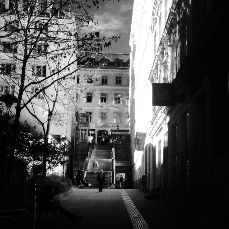 #wandering #streets #stairs #evening #ealk #vienna #center