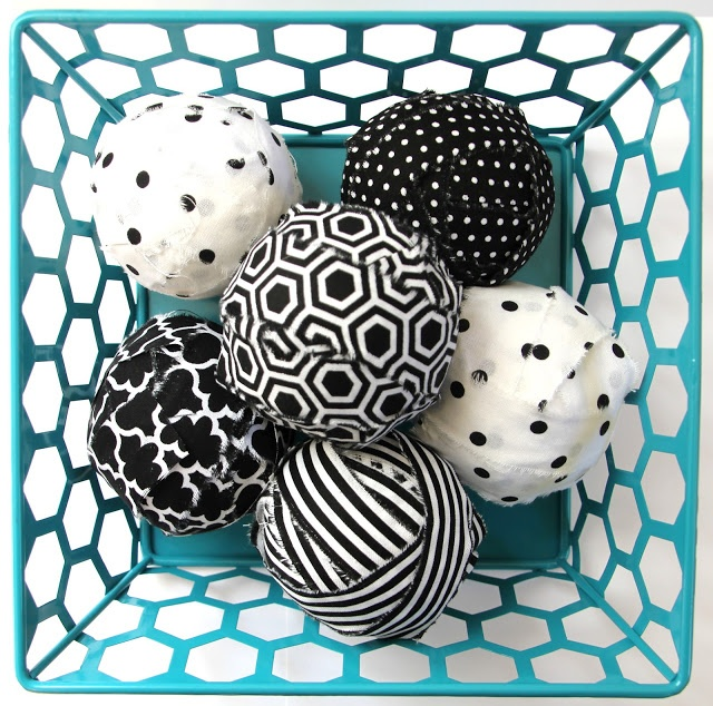 Lovely Little Life: DIY Decorative Fabric Balls (getting closer but not quite what I want)