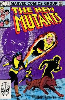 New Mutants # 1! Cannonball, Sunfire and company, form up to create a team of X-Men in training.